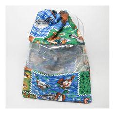 Saquinho plastificado - patos country