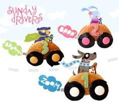 Traktaties - Sunday Drivers - Moodkids | Moodkids