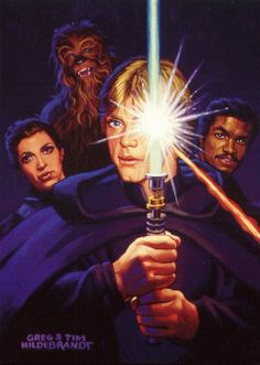 Lando Calrissian joins Luke Skywalker with Princess Leia and Chewbacca on another daring attempt to rescue Han Solo