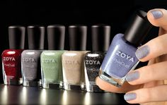 NEW Zoya PixieDust Collection - textured, matte AND sparkling