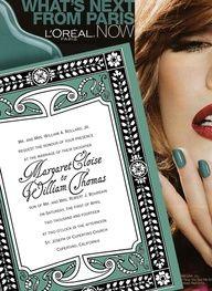 art deco wedding invitations in jade