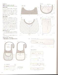 Bag Pattern Free, Patchwork Bags, Album, Bag Making, Fabric, Women, Patterns, Ideas, Bag Patterns