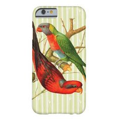 Vintage Parrots V2 Cellphone Case https://womenslittletips.blogspot.com http://amzn.to/2lkg9Ua