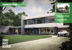 Tony Holt Design - New build modernist style house