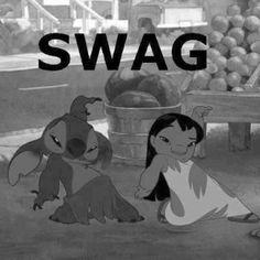 Swag! Lilo & Stitch #funny #humor #Disney