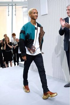 Jaden Smith at The Lv show