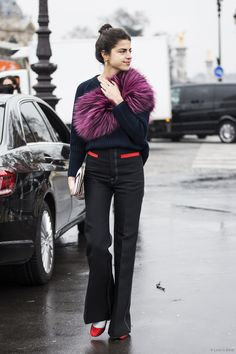 rock star. Leandra in Paris. #LeandraMedine #ManRepeller