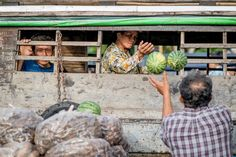 Watermelons for Sale Photo by Hai Duong -- National Geographic Your Shot