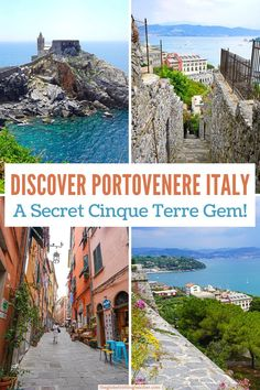 Planning a trip to the Cinque Terre? Don't miss Portovenere Italy, a hidden gem near the Cinque Terre! Use this guide to plan the best things to do in Portovenere and get all the essential information you need to plan a day trip to Porto Venere!