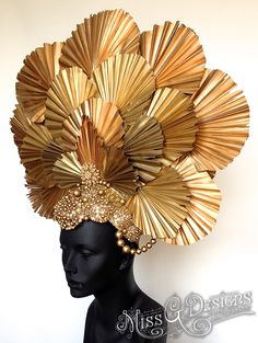 Awaken your inner Goddess with Miss G Design& handmade headdress collection. Recycled Costumes, Recycled Dress, Fascinator, Headpiece, Flower Headdress, Newspaper Dress, Crazy Hats, Head Jewelry, Body Adornment
