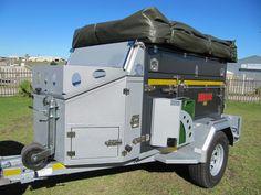 Leeu 2000 Extreme Off Road Trailer | Alu Predator Off Road Trailers | George, Western Cape