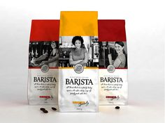 """Freshly roasted coffee beans of highest quality. All Barista blends are crafted by leading experts in the coffee industry using only specialty grade coffee beans. Each individual coffee in every Barista blend is roasted separately in order to emphasize it's unique character."