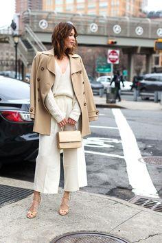 So Cool It Hurts: New York Fashion Week Fall 2016Street Style - Helena Bordon