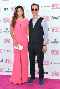Love her pink Escada gown - Camila Alves