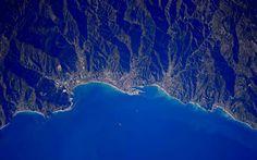 Vado Ligure e Savona dall' ISS by S. Cristoforetti