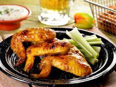 Receta de Alitas de Pollo con Mango y Habanero