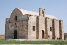Cyprus Agios Georgios Arperas Church. Situated about 2km from the village of Tersefanou, where once stood the medieval village of Arpera.