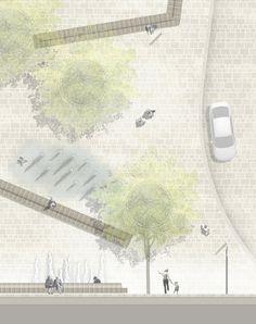 1. Preis Umgestaltung Innenstadt...competitionline