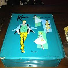 VIntage Ken Doll Case-ponytail-