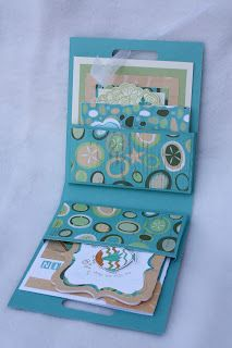Classic Christina: Projects from my January Team Retreat - pouch for cards