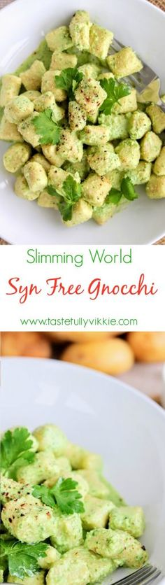 Slimming World Syn Free Gnocchi (With 1.5 Syn Pesto) - Tastefully Vikkie