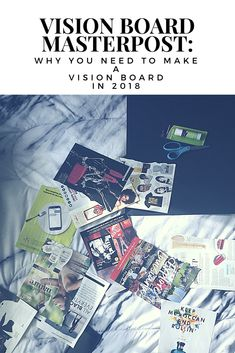 Check out this ultimate guide to making a vision board and becoming your best self!