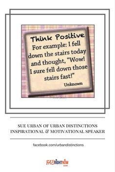 Join Sue Urban in her Facebook Group Urban Distinctions, Learning Life One Day At A Time