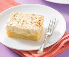 Apple And Sour Cream Slice Scone Recipes, Apple Dessert Recipes, Best Cake Recipes, Lemon Recipes, Apple Recipes, Sweet Recipes, Baking Recipes, Apple Sour Cream Slice, Sour Cream Cake