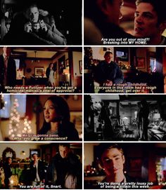 """""""You're doing a pretty lousy job of being a villain this week"""" - Barry, Captain Cold and Iris #TheFlash"""