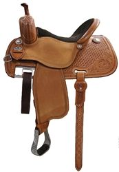 Cervi Crown C Barrel Saddle — Beautiful!