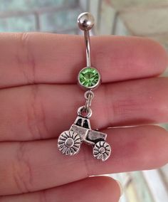 Tractor Belly Ring