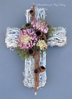 Wszystkich Świętych 2012 Funeral Sprays, All Saints Day, Funeral Flowers, Communion, Wind Chimes, Holi, Ladder Decor, Projects To Try, Clip Art