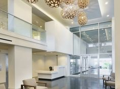 Pretty lobby at Hollywood Ardmore Apartments