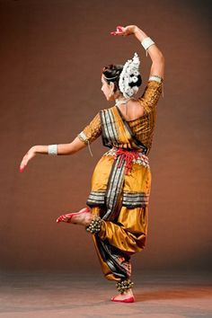Dancing is an art too.  what a beautiful pose