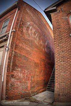 Faded Coca Cola Logo, Sherman Ave North Hamilton Ontario Coca Cola Ad, Always Coca Cola, Coca Cola Bottles, Pepsi, Coke, Hamilton Ontario, Old Building, Vintage Signs, Dundas Ontario