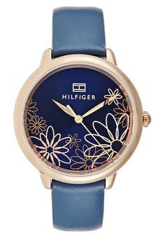 Tommy Hilfiger Uhr - blau - Zalando.de