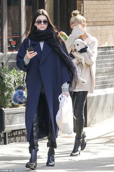Kendall Jenner - In New York City. (October 2014)