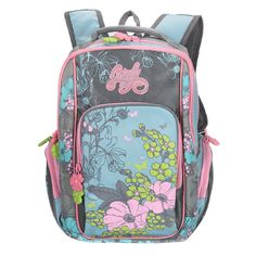 Children School Bags cartoon butterflies flowers printing shoulder bag  waterproof nylon Backpack girl Schoolbag Mochila Infantil. School Bags For  KidsKids ... 21c805f2abf80