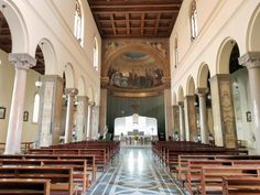 Junno Arocho Esteves of Catholic News Service reports on the new church building in Rome, Italy, for our ministry for Catholics from the United States who live in the Eternal City.  This new home is San Patrizio / St. Patrick's Church.