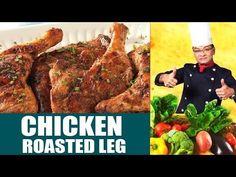 Chicken Roasted Leg - Zakirs Kitchen - 6 November 2017   Dawn News - YouTube Chicken Leg Recipes, Chicken Legs, Cooking Recipes In Urdu, Dawn News, November, Steak, Youtube, Roast, Desi