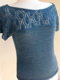 Mavivi tejiendo: Nenúfar azul