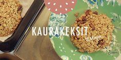 Reseptivideo: Kaurakeksit
