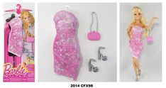 2014 Barbie Complete Look Fashion Packs Fashion 2014, Look Fashion, Fashion Outfits, Complete Outfits, Barbie Dolls, Lily Pulitzer, Packing, Star, School