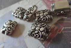 Silver strand separator bead genuine bali by NancyLynnDesigns