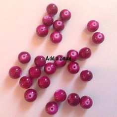 ADD A  BEAD: GB6-7 size 6mm price : 35 inr for 50 beads