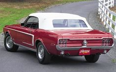 1968 Ford Mustang Cobra Jet 428 Rear Driver Side
