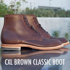So Gustin's new boots look amazing! Truly stellar. #menswear