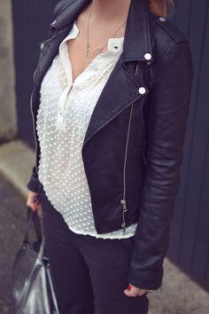 16 meilleures images du tableau Veste cuir noir en 2019   Leather ... dae9ef653b0