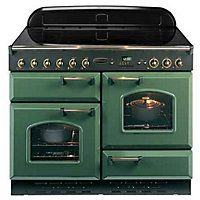 Buy Rangemaster 78000 Classic Natural Gas Range Cooker - Green And Chrome from Appliances Direct - the UK's leading online appliance specialist