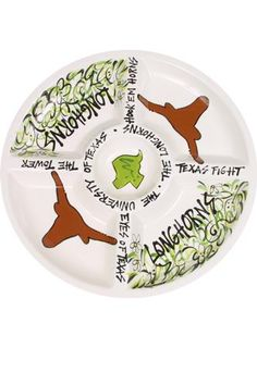 Hand- Painted Ceramic Veggie Platter